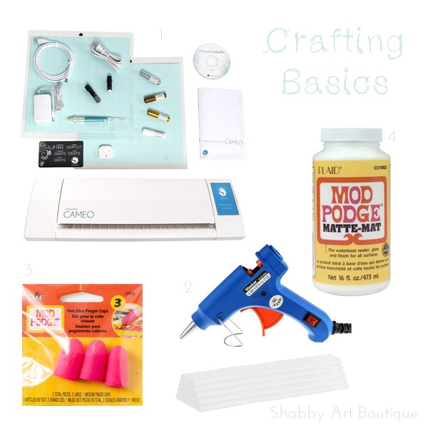 Gift Guide for Crafters - Crafting basics I Shabby Art Boutique