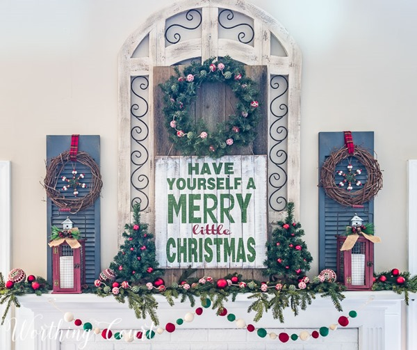 have-yourself-a-merry-little-christmas-mantel