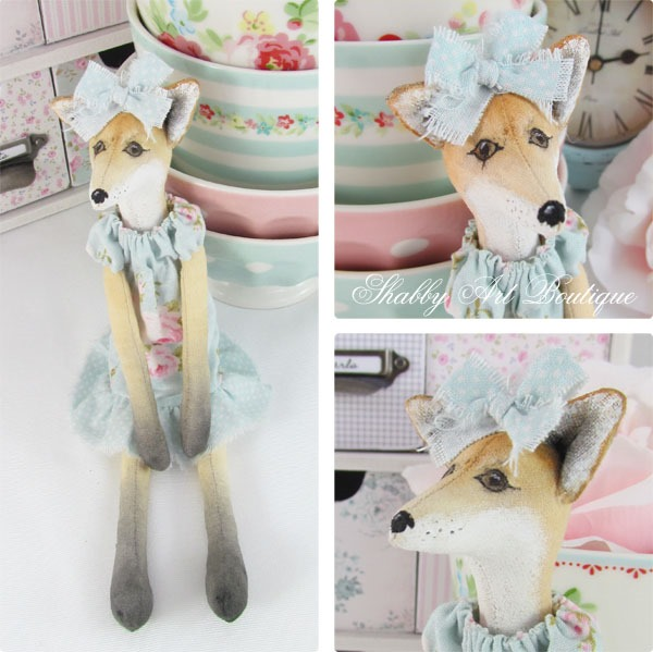 Foxie by Shabby Art Boutique