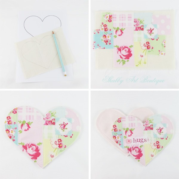 Heart Pocket by Shabby art Boutique