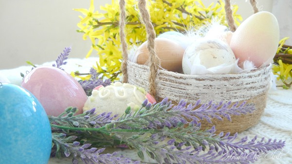 DIY Easter Basket Home Chic Club
