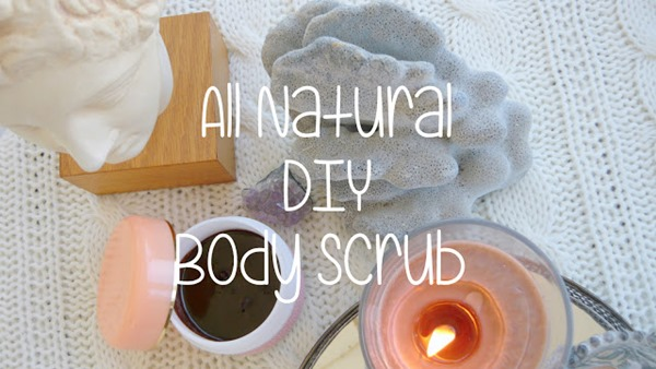 DIY Natural Coffee Body Scrub