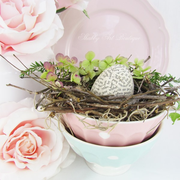DIY bowl nest by Shabby Art Boutique
