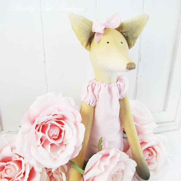Miss Foxie Lady - Tilda design - made by Shabby Art Boutique