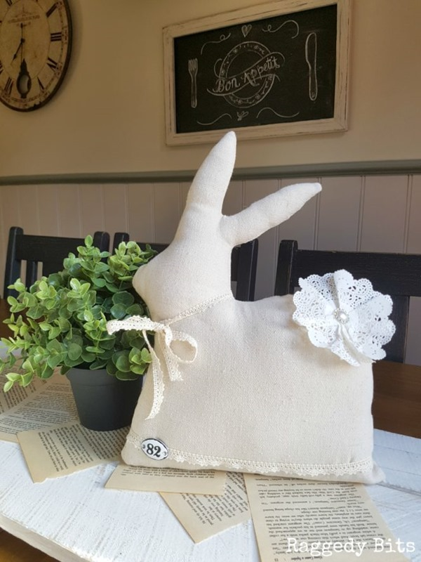 Vintage-Farmhouse-Drop-Cloth-Bunny-9-665x887