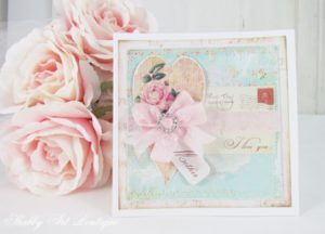 Handmade Shabby Chic Mother's Day Card