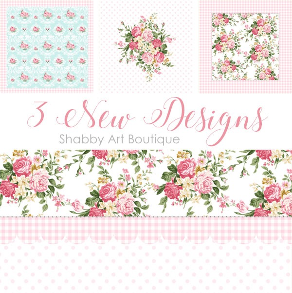 New designs for Society6 shop at Shabby Art Boutique