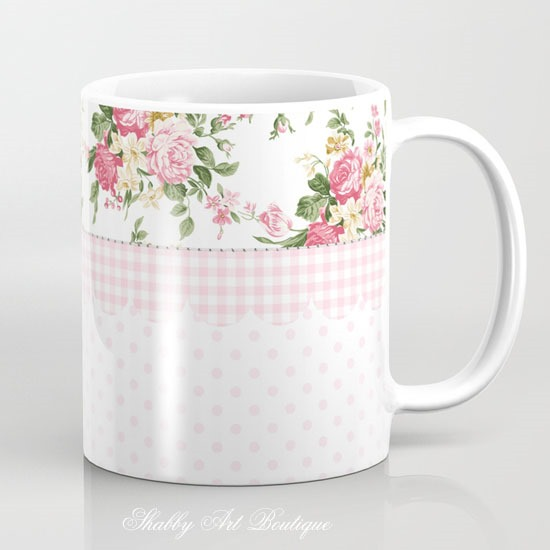 Rosie collection designed by Kerryanne English for Society6 ShabbyArtBoutique