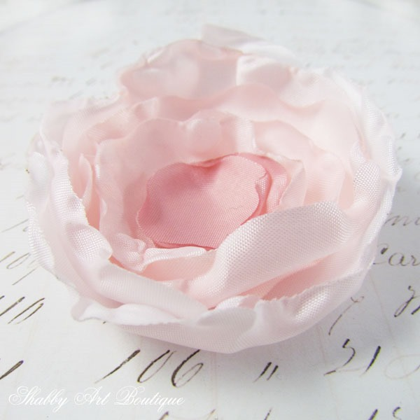 Making homemade silk flowers using the candle method by Shabby Art Boutique