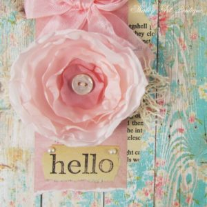 DIY – Homemade Silk Flower Cards