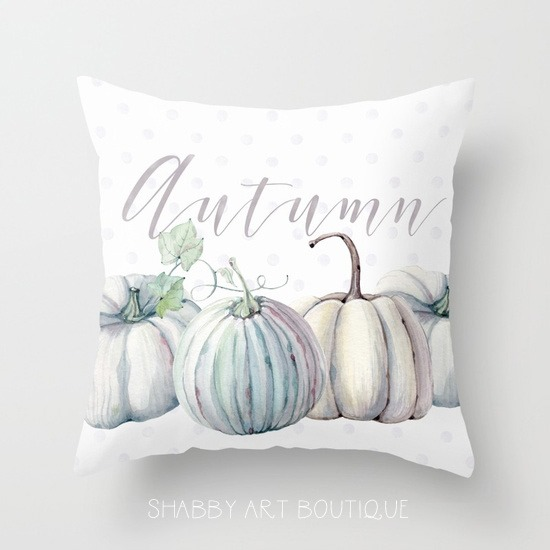 pastel-autumn-pillow-by Shabby Art Boutique