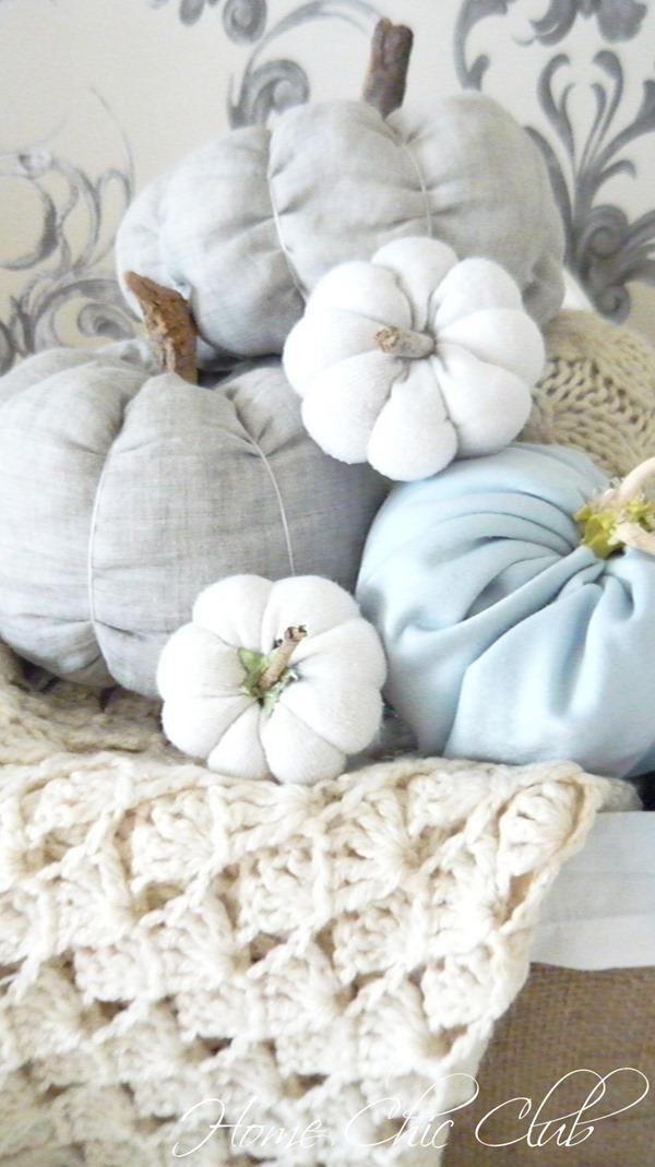 Easy DIY Fabric Pumpkins 22