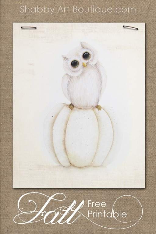 photograph regarding Tole Painting Patterns Free Printable titled How toward Paint Shabby Tumble Owls - Shabby Artwork Boutique