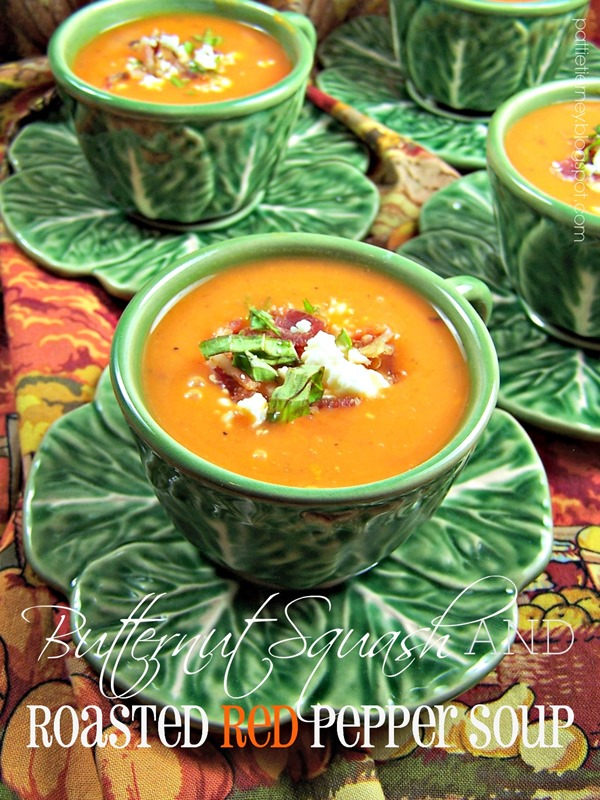 Butternut Squash and Roasted Red Pepper Soup (1)