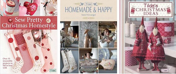Tilda Christmas book recommendations from Shabby Art Boutique
