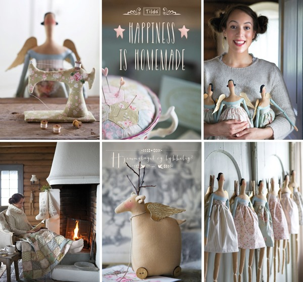 Tilda book - Happiness is Homemade at Shabby Art Boutique