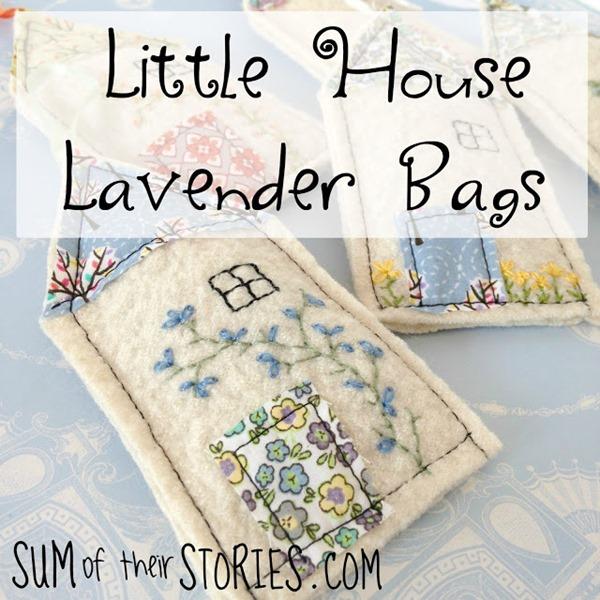little house lavender bags