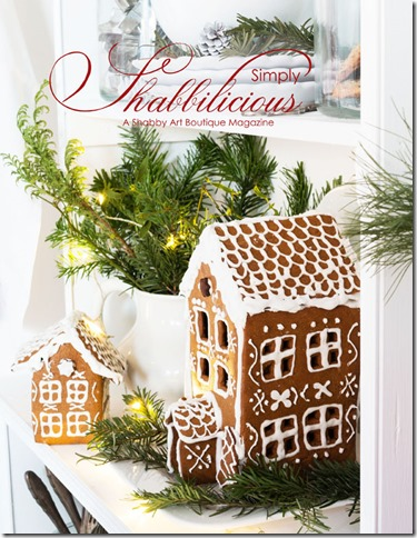 2017 Chrismtas issue of Simply Shabbilicious magazine available to read free online now, or purchase a printed copy