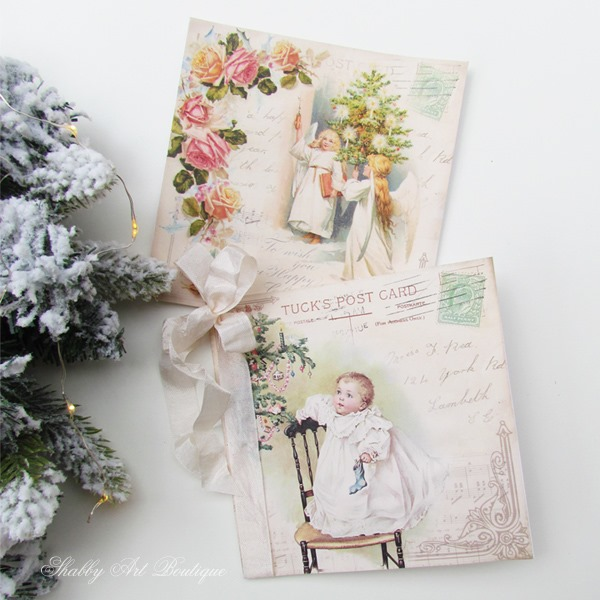 Free vintage Christmas graphics to download from Shabby Art Boutique