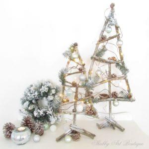 How To Make Twig Christmas Trees