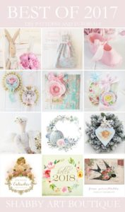 Best of 2017 Creative Projects from Shabby Art Boutique