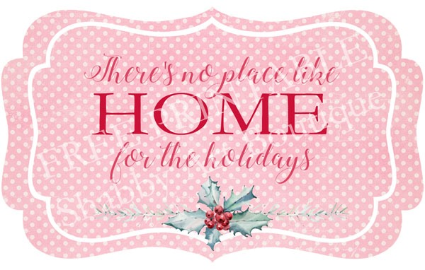 Free printable gift and decor tags from Shabby Art Boutique