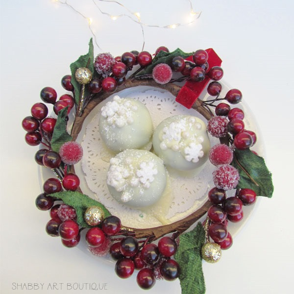 Homemade truffles for Christmas at Shabby Art Boutique