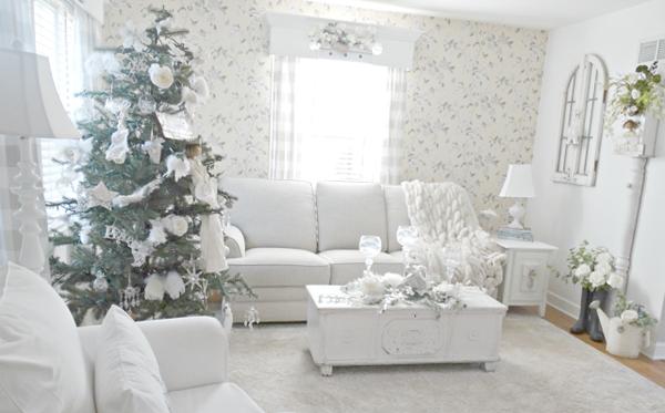 Living room Christmas full