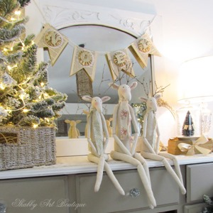Putting the handmade back into the holidays at Shabby Art Boutique