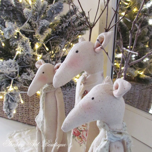 Tilda Reindeers at Shabby Art Boutique