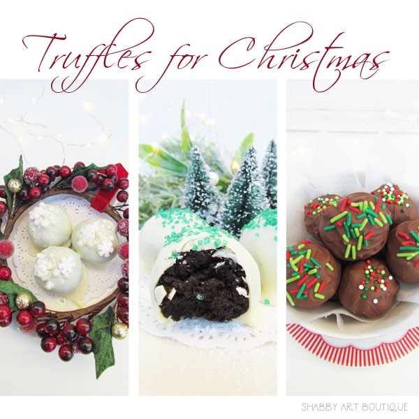 Truffles for Christmas at Shabby Art Boutique
