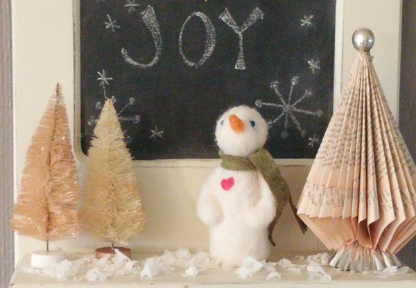 felted snowman25