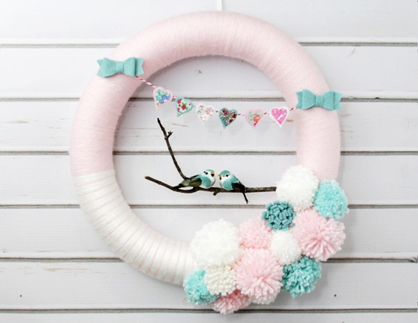 Lovebirds-Wreath