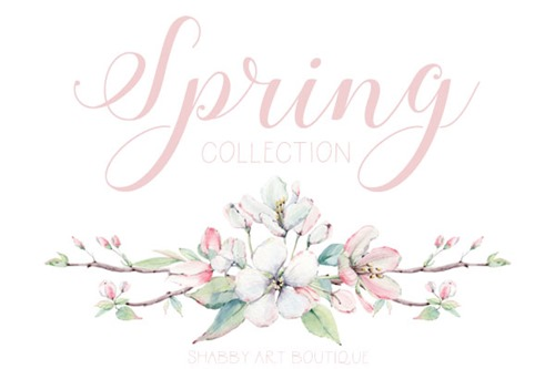 Spring Collection by Shabby Art Boutique