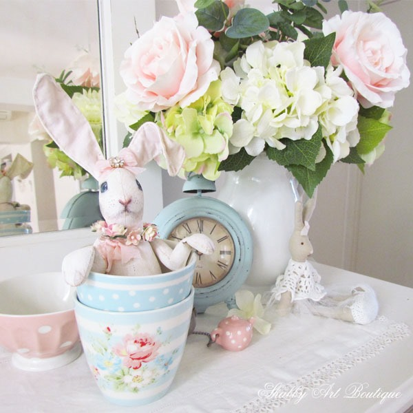 Easter decor at Shabby Art Boutique