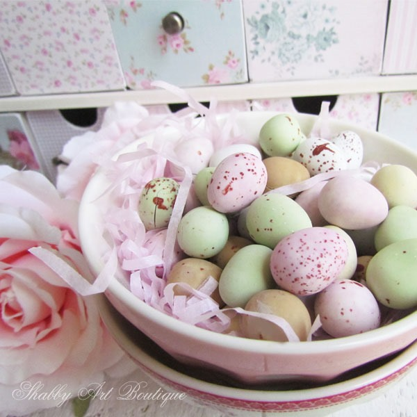 Easter in the craft room at Shabby Art Boutique