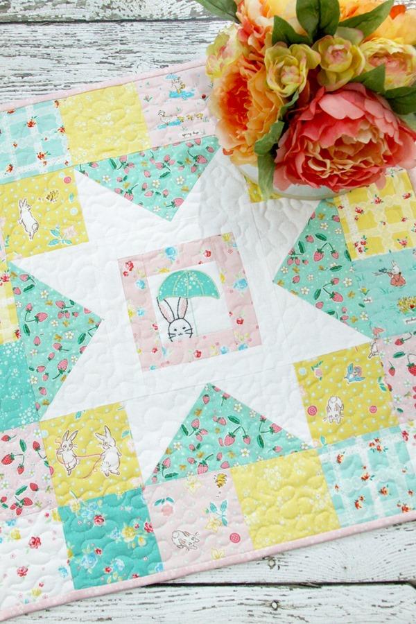 Spring-Bunnies-Mini-Quilt