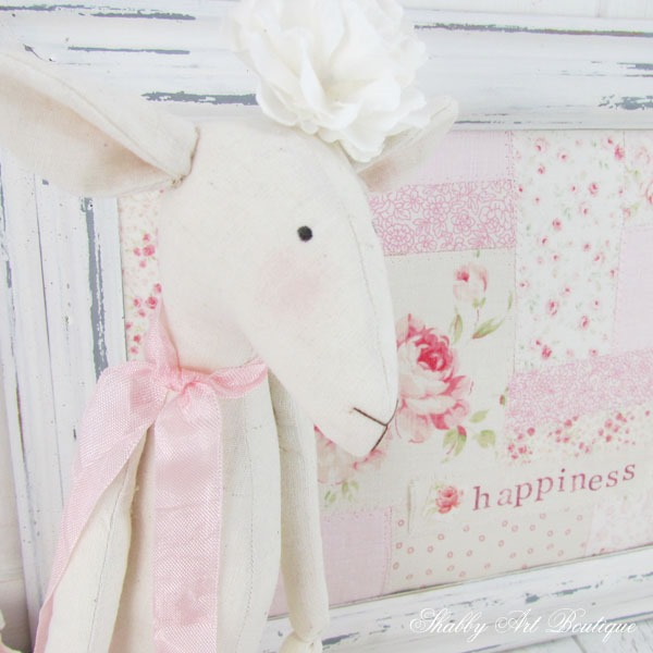 sweet sprin glambs and pretty faux patchwork from Shabby Art Boutique