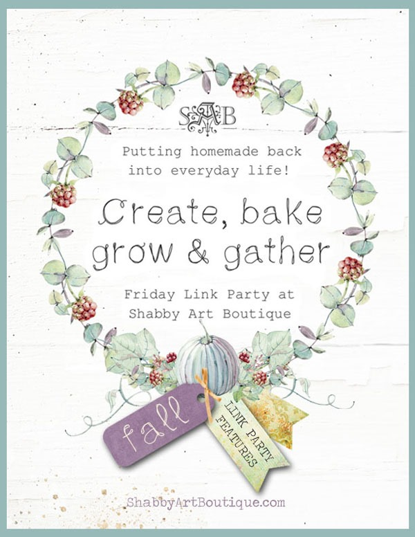 Create, Bake, Grow & Gather Party - Fall 2018 E-zine