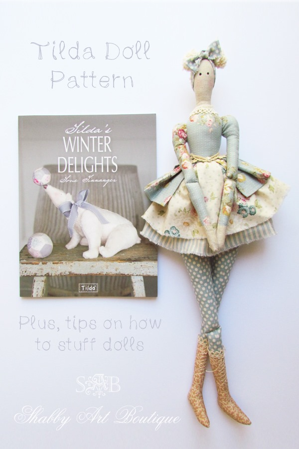 How to stuff dolls and softies by Shabby Art Boutique