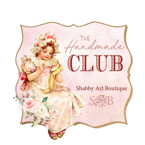The Handmade Club hoste dby Shabby Art Boutique, is a subscription club for creative friends