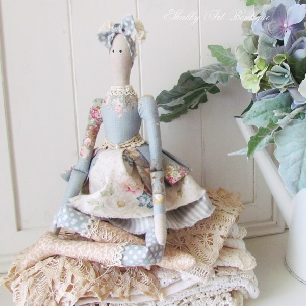 Tilda Autumn Doll from Shabby Art Boutique