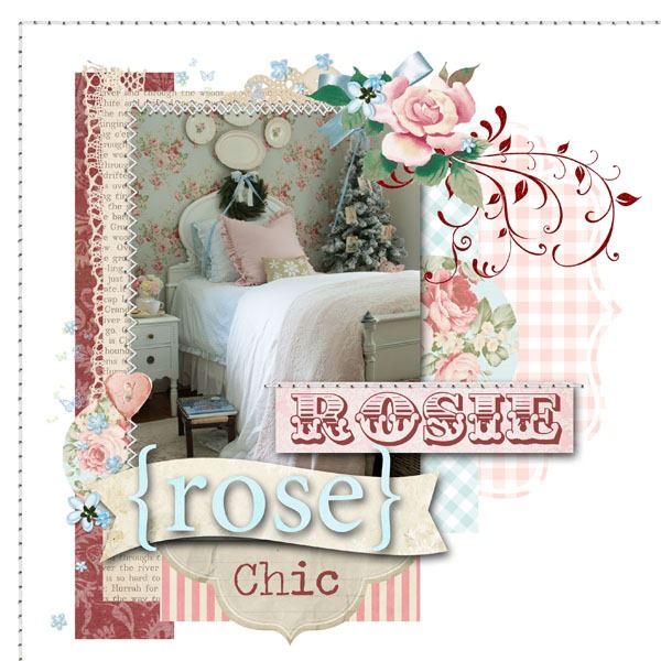 2018 free Simply Shabbilicious Christmas magazine featuring Amanda of Rosie Rose Chic