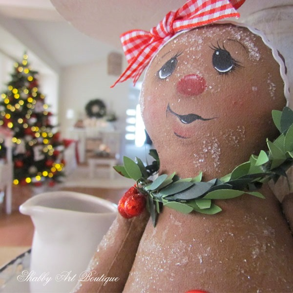 Whimsical handmade Christmas projects from Shabby Art Boutique