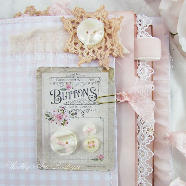 The January Creative Days kit from The Handmade Club at Shabby Art Boutique