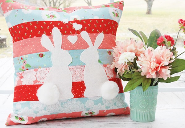 Spring-Bunnies-in-Love-PIllow