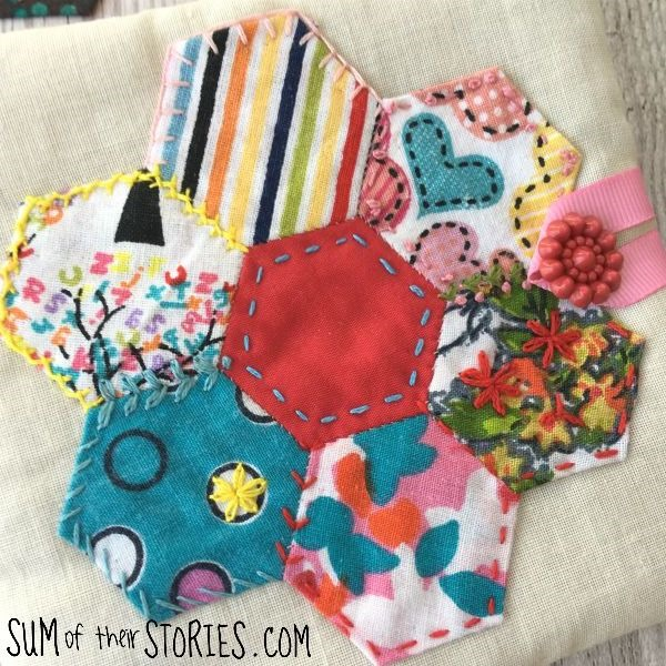 embroidered needle book 1