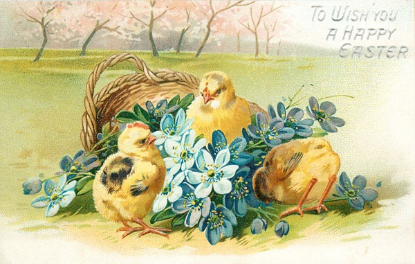 Repaired vintage postcards for free download at Shabby Art Boutique