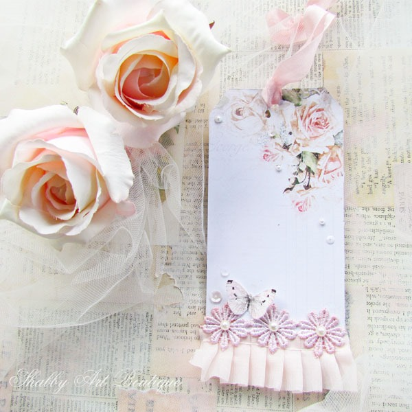 Handmade Tag by Shabby Art Boutique using the May Kit of the Handmade Club