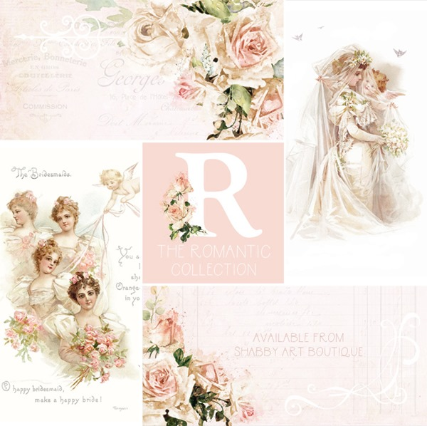 The Romantic Collection - May Kit for the Handmade Club at Shabby Art Boutique